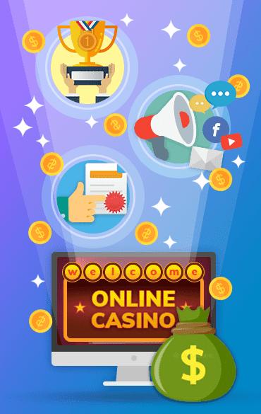 online casinos gambling profit
